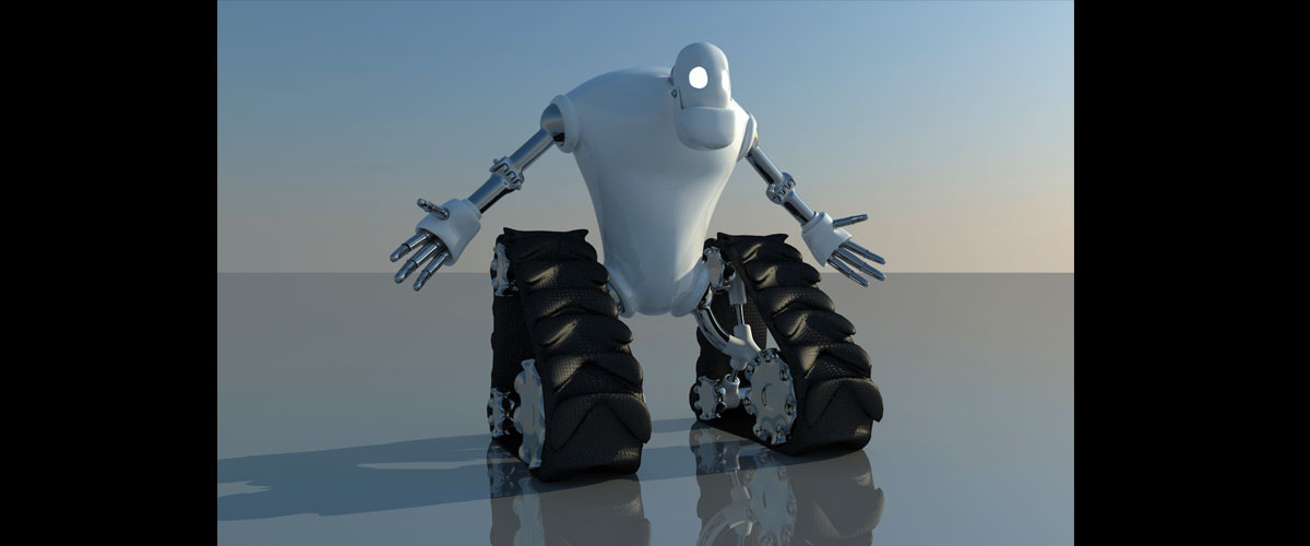 3Ds Max Vray Personaje Robot