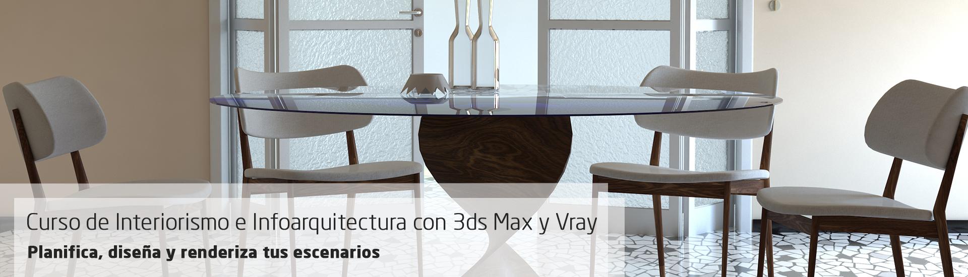 Curso online de interiorismo e infoarquitectura 3d studio for Programas 3d interiorismo