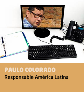 Paulo Colorado, responsable América Latina