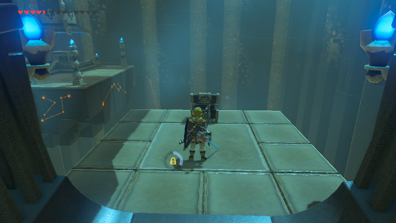 Un santuario en Breath of the Wild